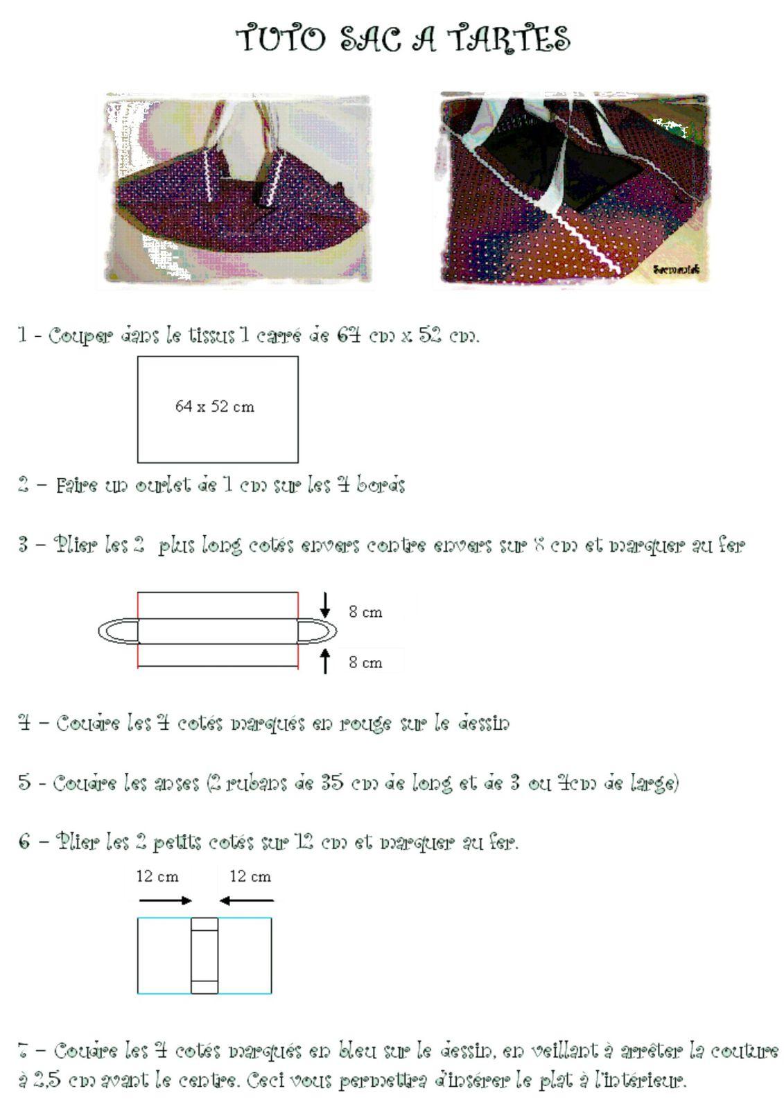 Sehr Tuto gratuit sac à tartes ! - Sacmaniak XL46