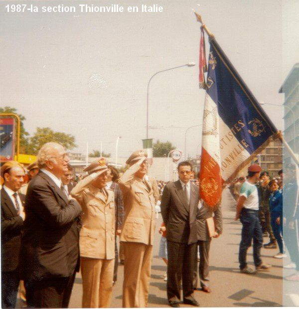 1987-la section Thionville en Italie (2)