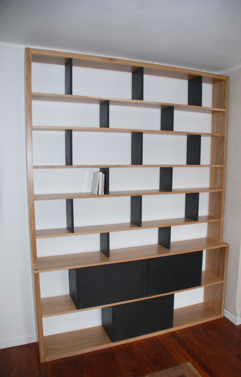 bibliotheque contemporaine. Black Bedroom Furniture Sets. Home Design Ideas