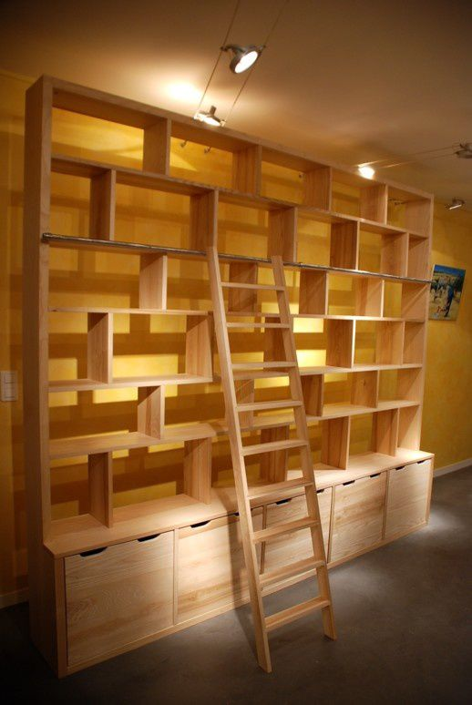Album bibliotheques contemporaines en fr ne et ch ne et tag res design a - Bibliotheque contemporaine en bois design ...