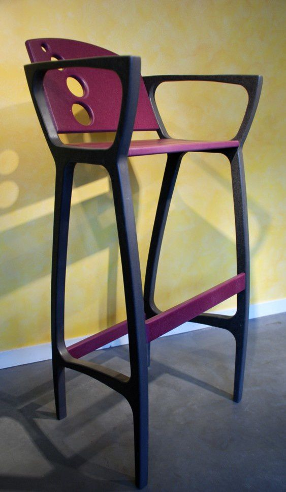 album tabouret de bar bulle design valchromat atelier pourquoi pas mobilier design sur mesures. Black Bedroom Furniture Sets. Home Design Ideas