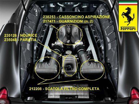 Offre speciale sur les kits carbone ferrari f 430 michel mercier automobiles - Kit reparation carbone ...