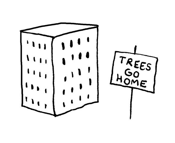 trees go home