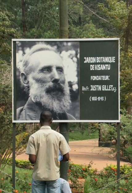 Rdc le jardin botanique de kisantu le bijou tableau for Jardin zoologique kinshasa