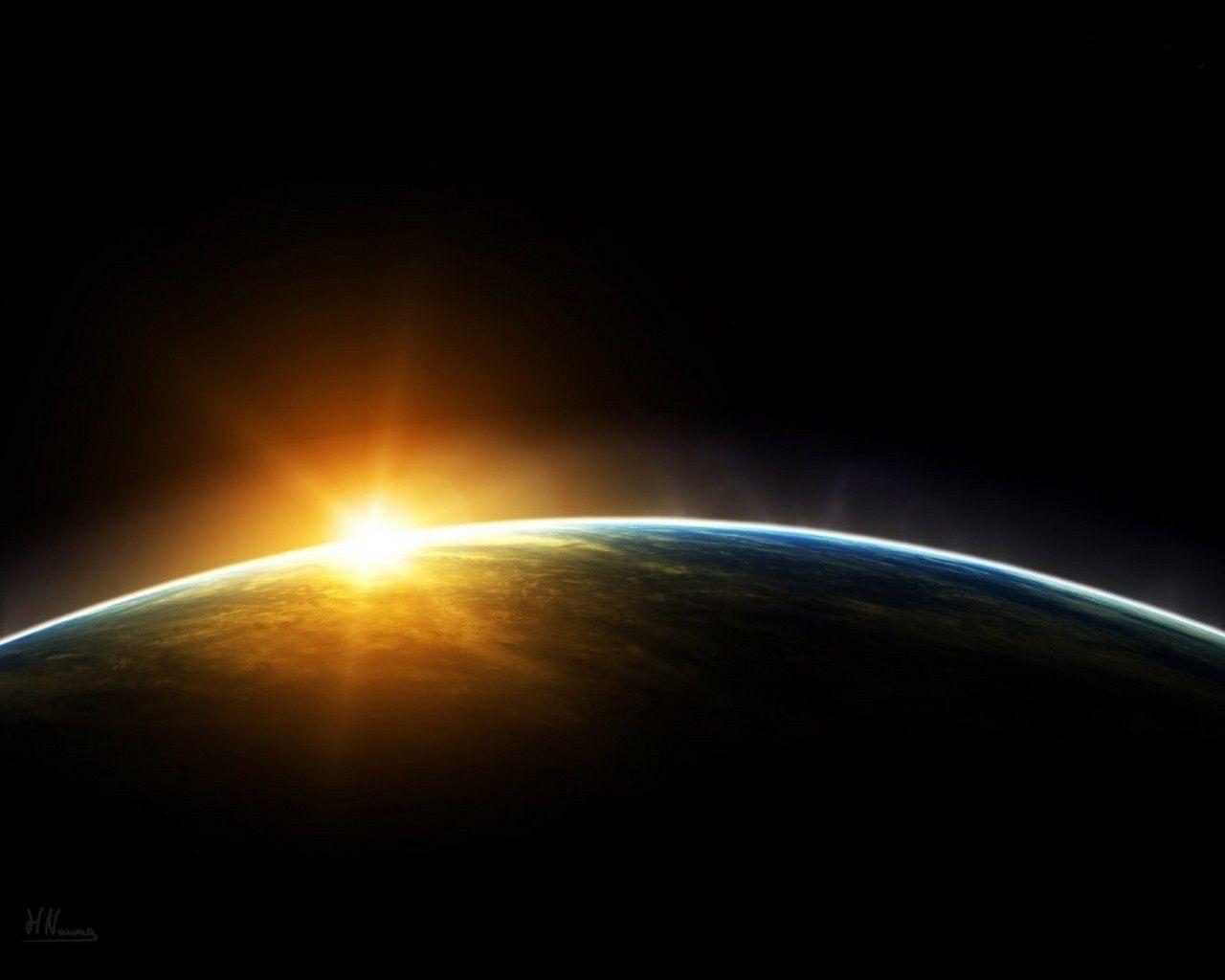 fond-ecran-lever-de-soleil-vu-de-l--espace
