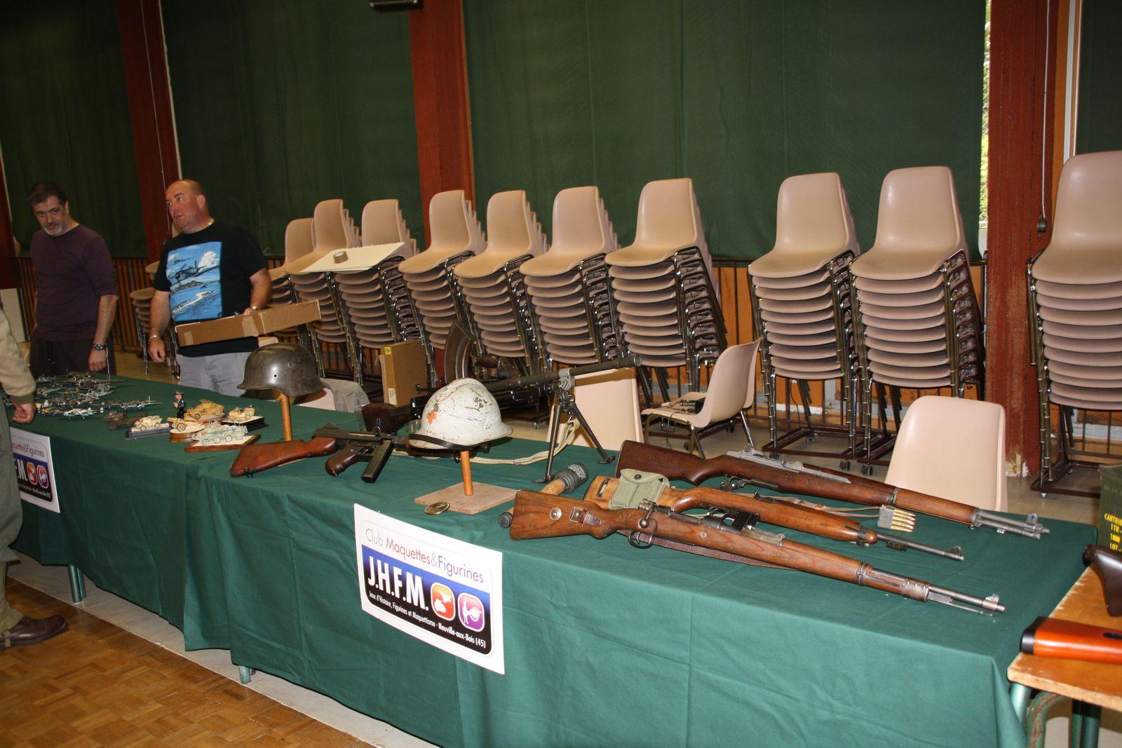 Exposition à Janville le 8 mai 2011