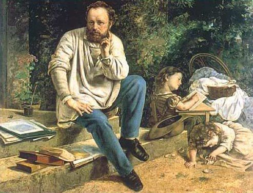Proudhon, di Courbet, 1853