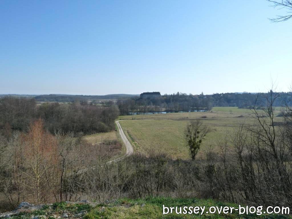 Les terres voisines de Ruffey-le-Chateau
