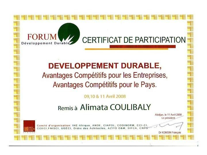 Diplome developpement durable