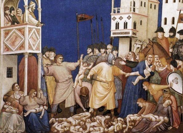 massacre des innocents Giotto