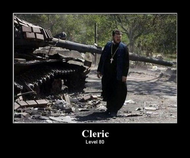 cleric level 80