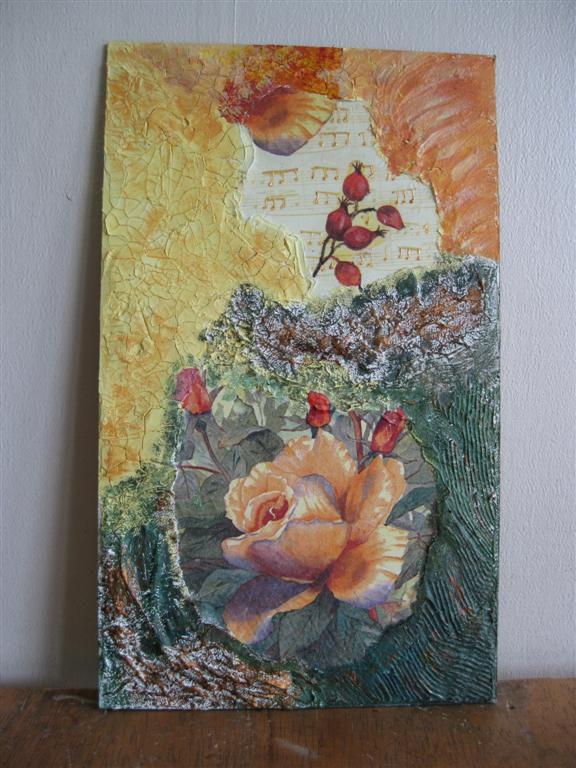 Cours de serviettage le blog de mamyreille for Peinture avec resine