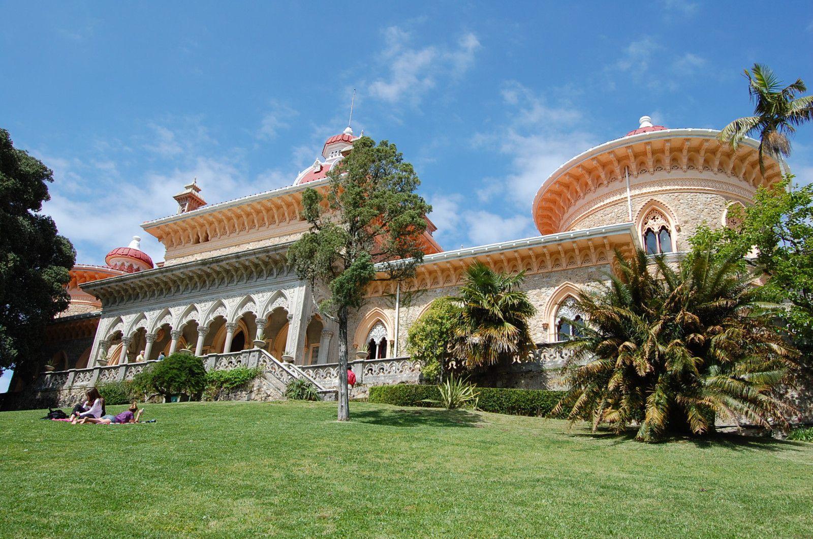 Sintra palais et jardins de monserrate lankaart for Au jardin du port le palais