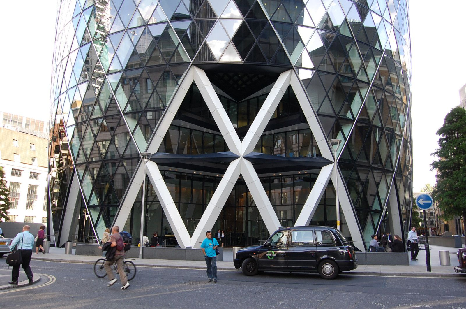 norman foster tour sainte mary axe londres lankaart
