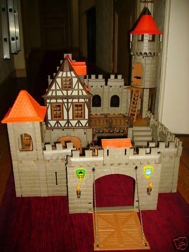 Chateau fort playmobil 3666 for Plan chateau fort playmobil