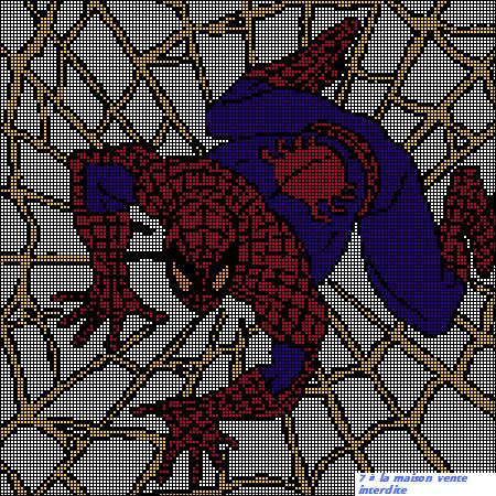 Modele tricot spiderman gratuit - Spider man gratuit ...