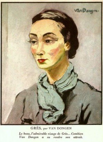 Painting-of-Madame-Gres-1948-e1288551900376
