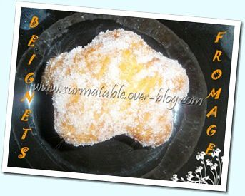 BEIGNETS AU FROMAGE 8