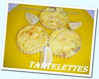 tartelettes champignons / crevettes 1
