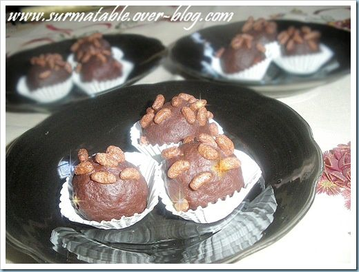 boulettes froides choco