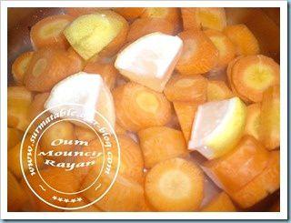 confiture de carottes5