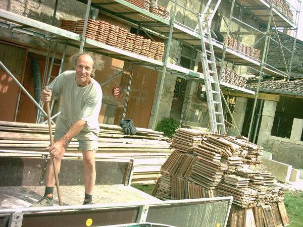 photos de chantiers et de d'actions de 2005 a 2009