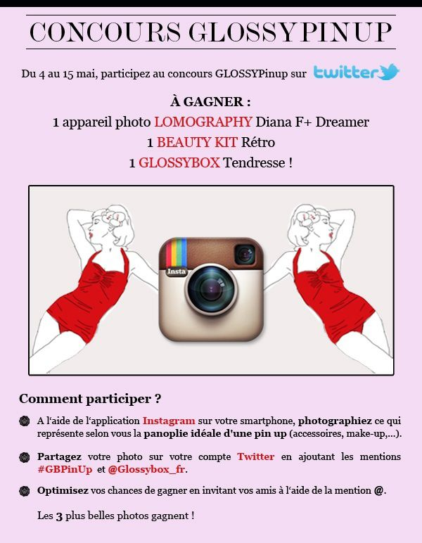 Jeu Concours #GlossyPinUp