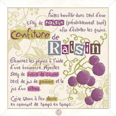 confiture raisin