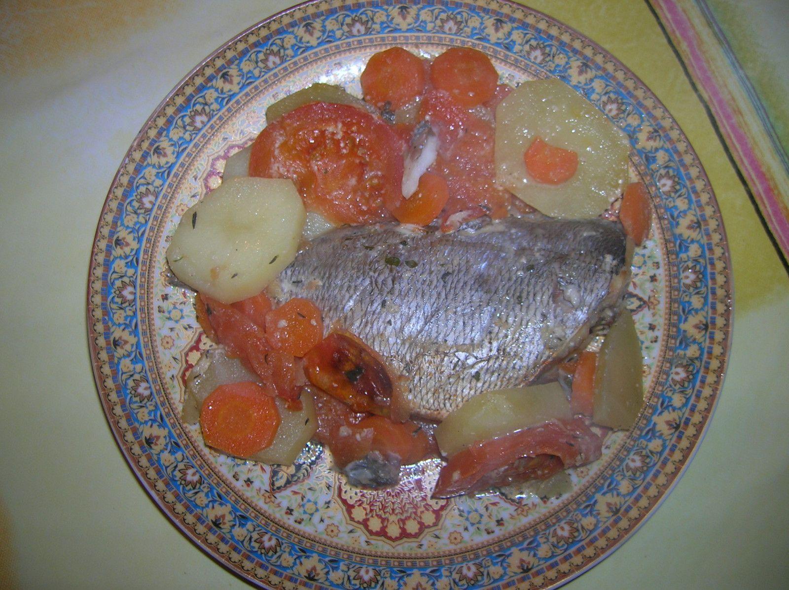 plat cuisson poisson