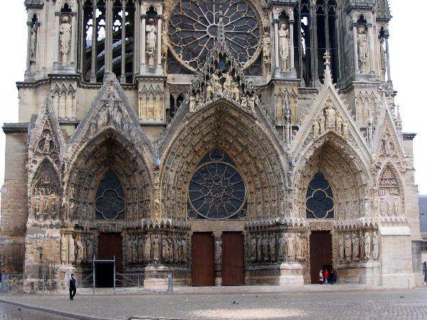 Foyer De L Art Gothique : Vistes de noël quot cathédrale notre dame reims les