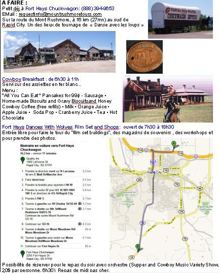 Infos Fort Hays Chuckwagon