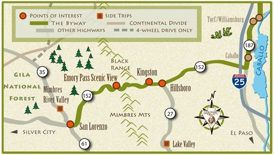 Geronimo trail scenic Byway