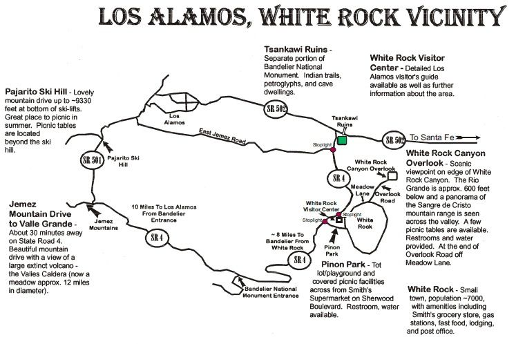White Rock Map
