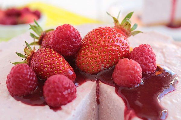 Cheesecake aux fruits rouges 8