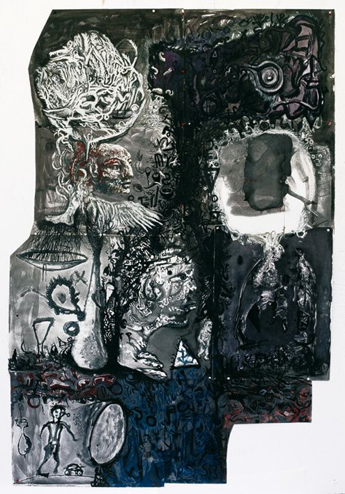Gravures, assemblages, collages.vers 2010