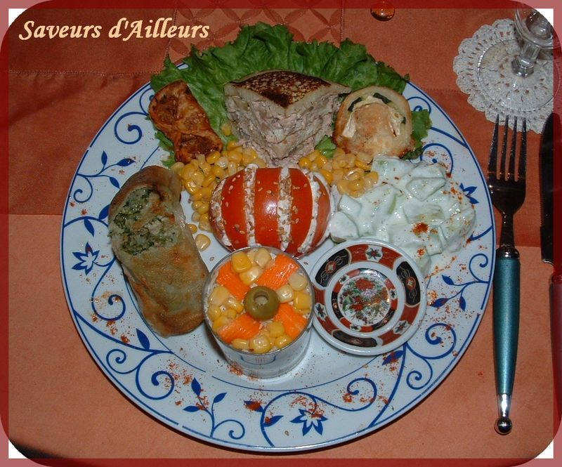 D ner entre amis for Diner simple entre amis