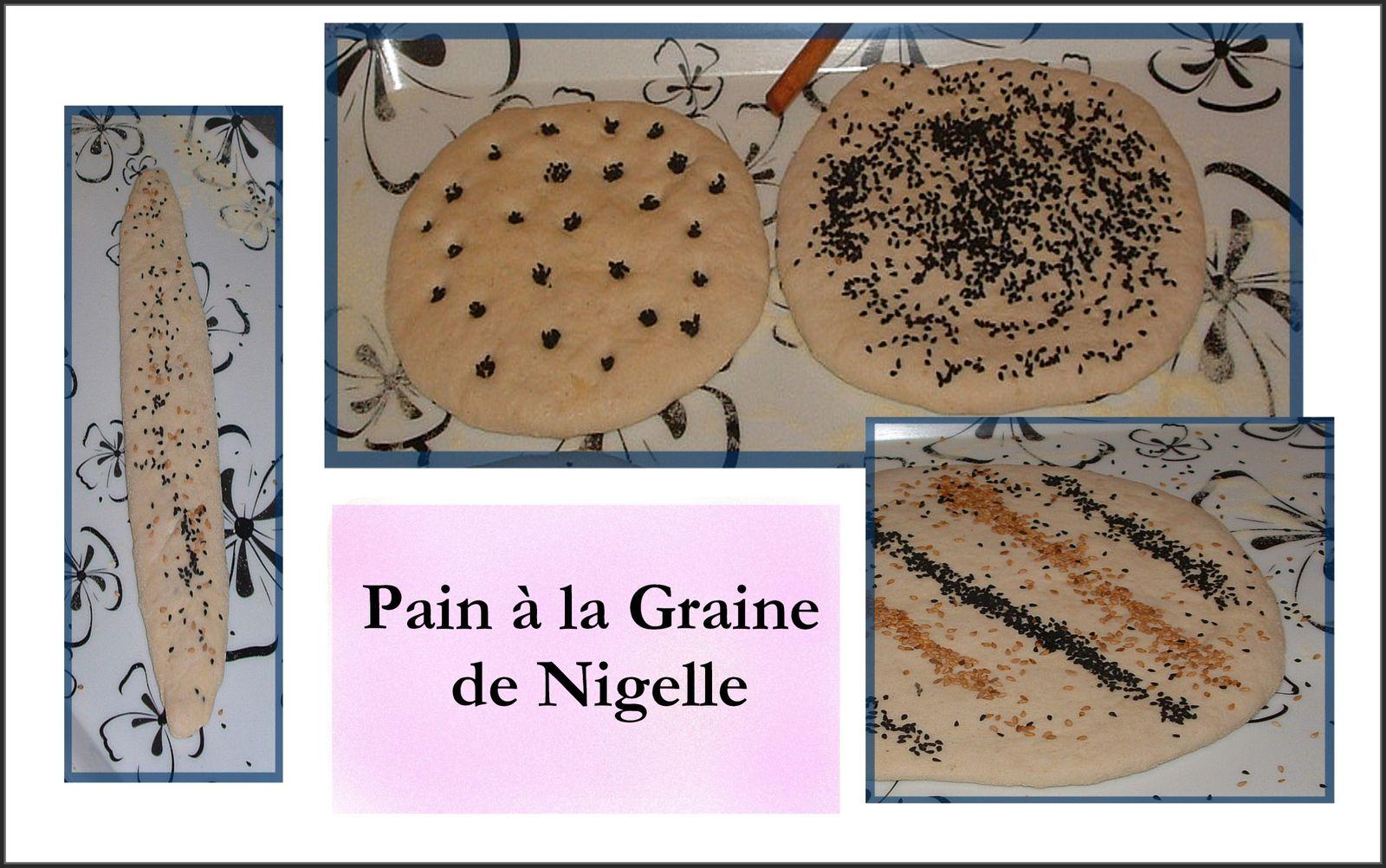 pain l 39 huile d 39 olive et graines de nigelle. Black Bedroom Furniture Sets. Home Design Ideas