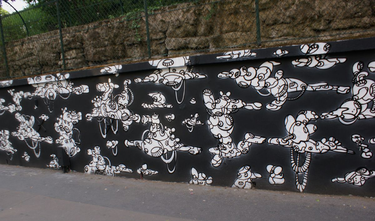 Album - Graffitis Paris Tom 024
