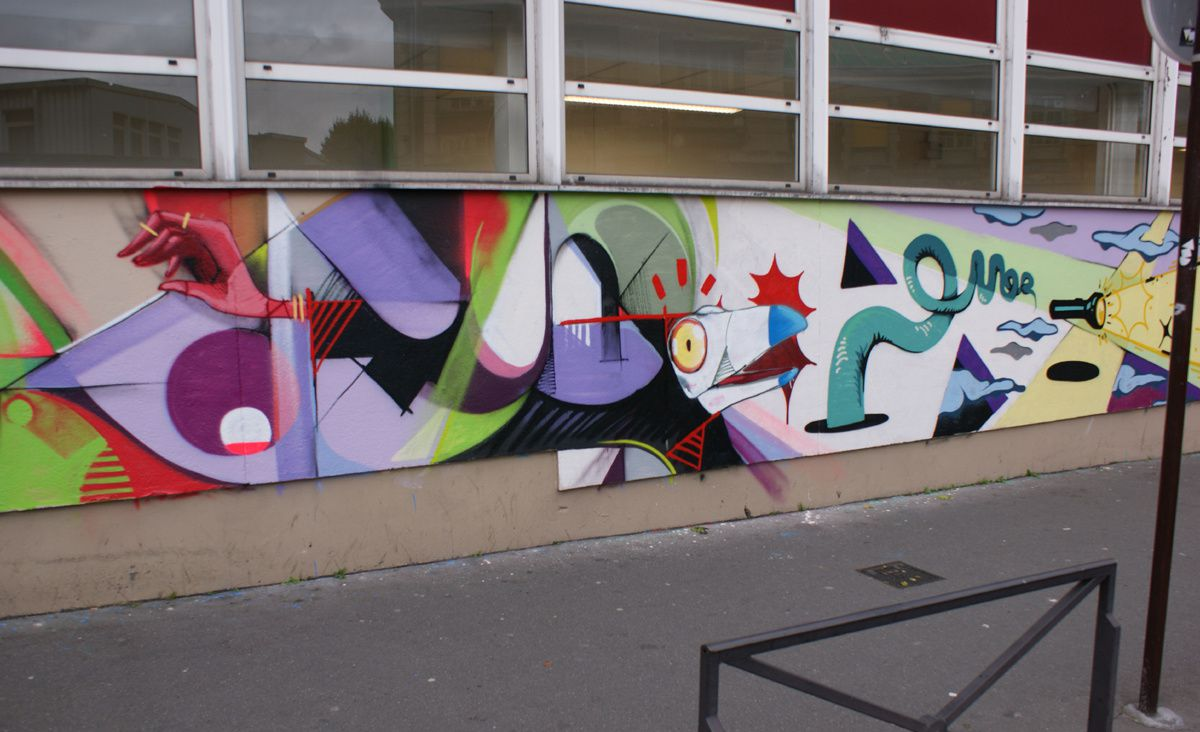 Album - Graffitis Paris Tom 028