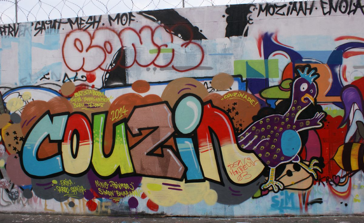 Album - Graffitis Paris Tom 030