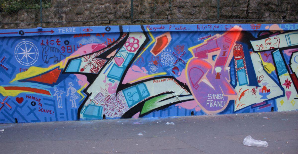 Album - Graffitis Paris Tom 031