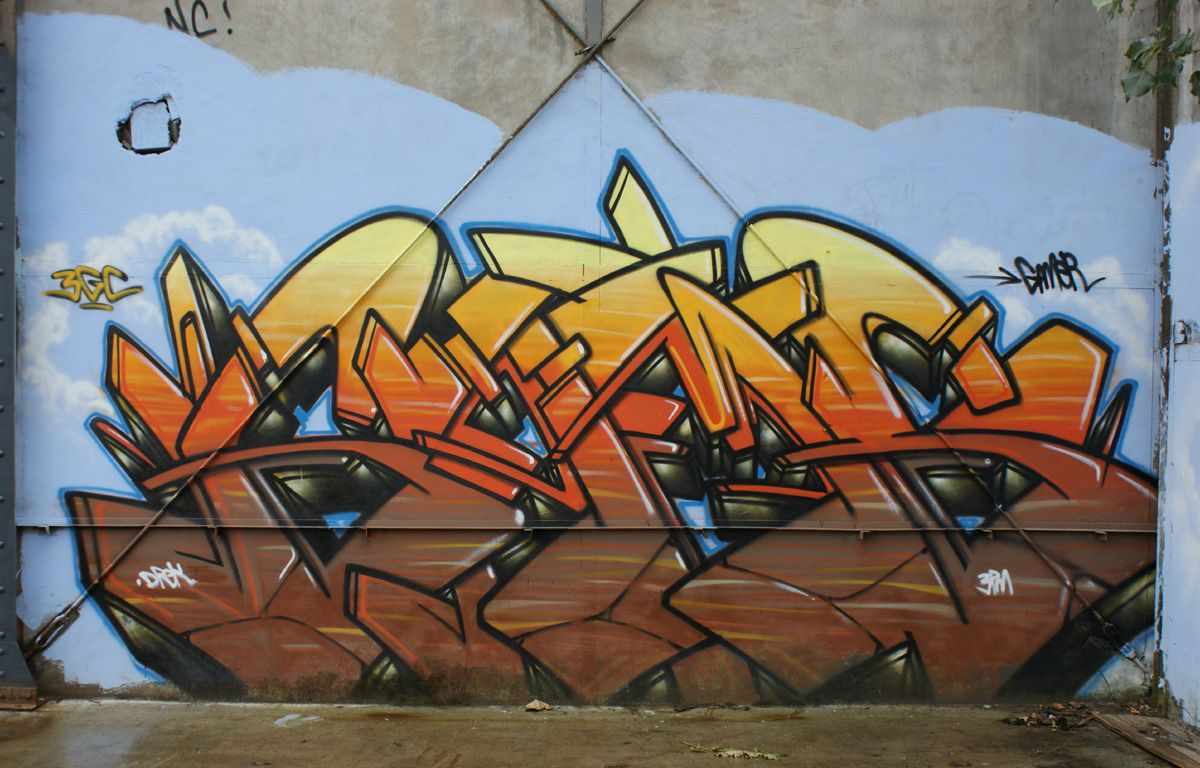 Album - Graffitis Caserne Niel Bordeaux Tom 002