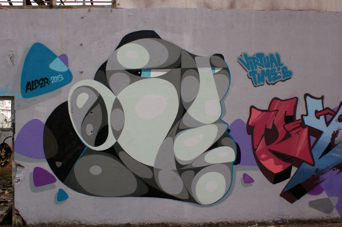 Album - Graffitis Caserne Niel Bordeaux Tom 005