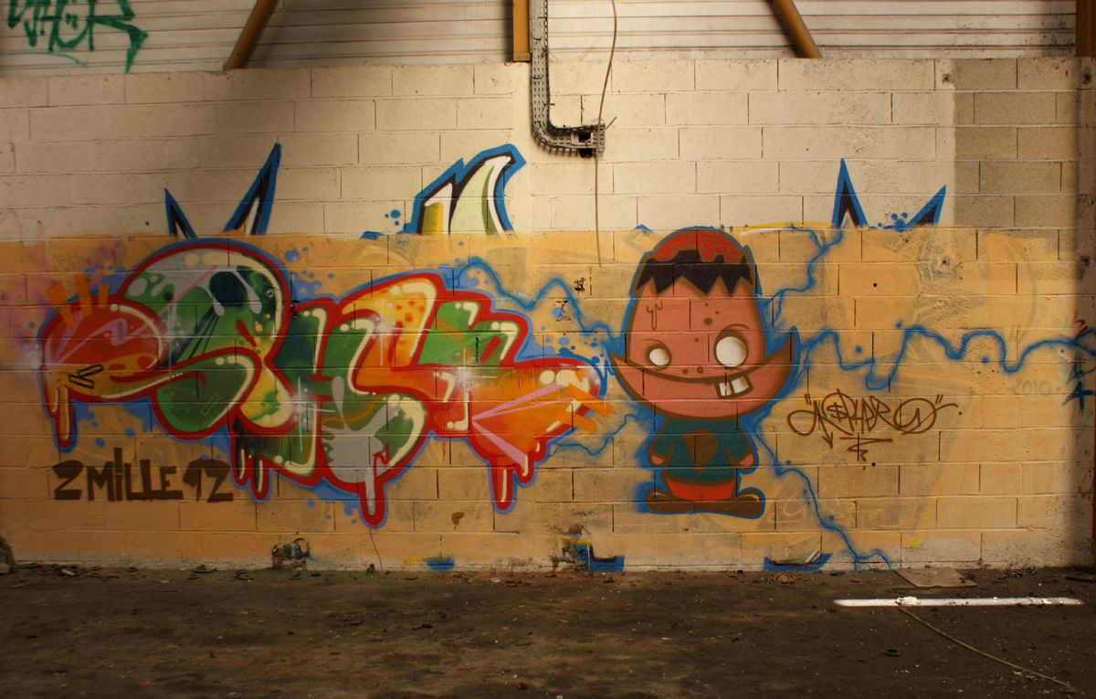 Album - Graffitis Dept 02 Tom 001