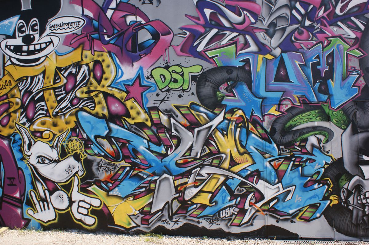 Album - Graffitis Dept 41 Tom 001