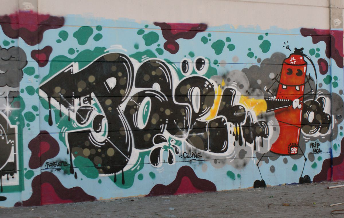 Album - Graffitis Dept 45 Tom 002