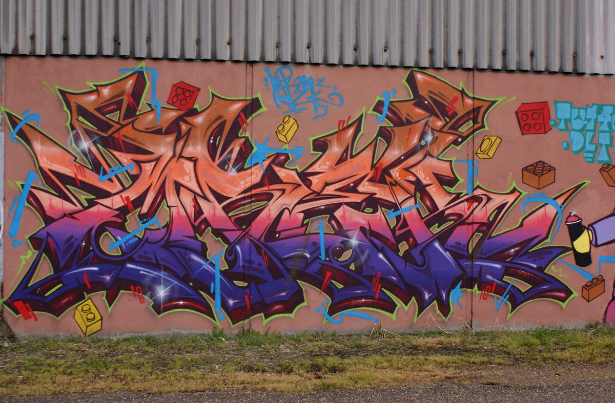 Album - Graffitis Dept 76 Tom 001