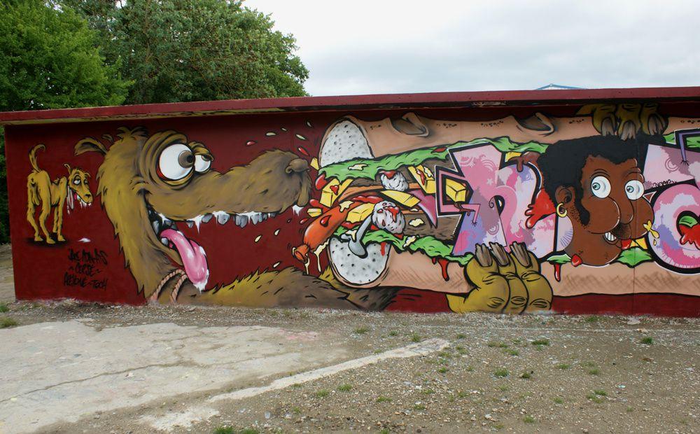 Album - Graffitis Dept 78 Tom 001