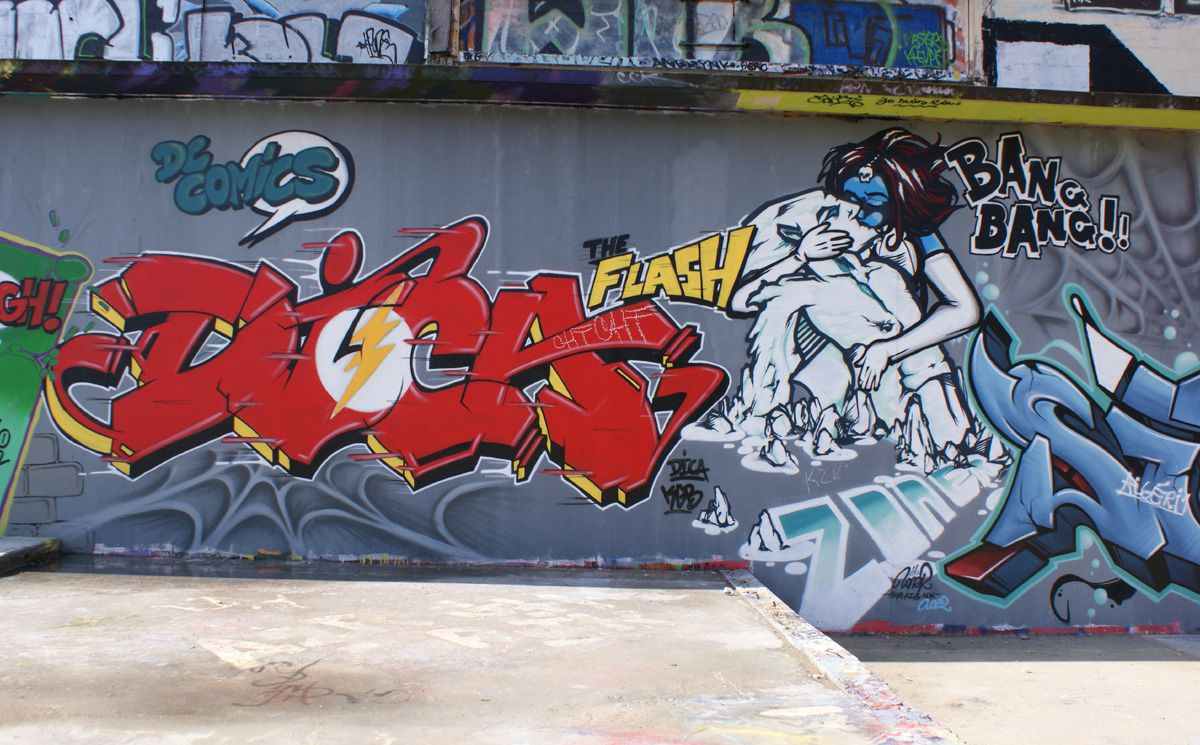 Album - Graffitis Dept 78 Tom 006