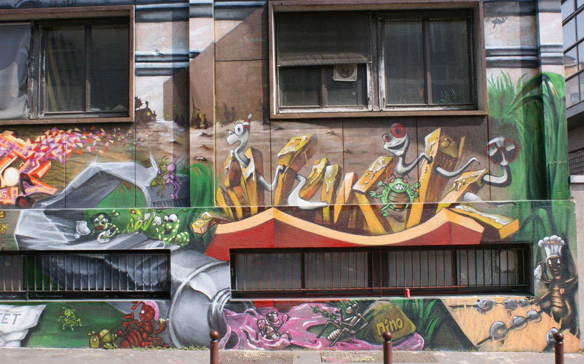 Album - Graffitis Dept 94 Tom 005